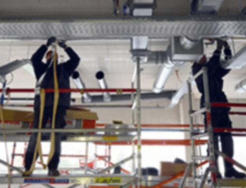Nederland gaat op slot, maar de installatiebranche werkt door